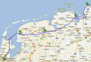 Liegerad-Tour Holland 2012
